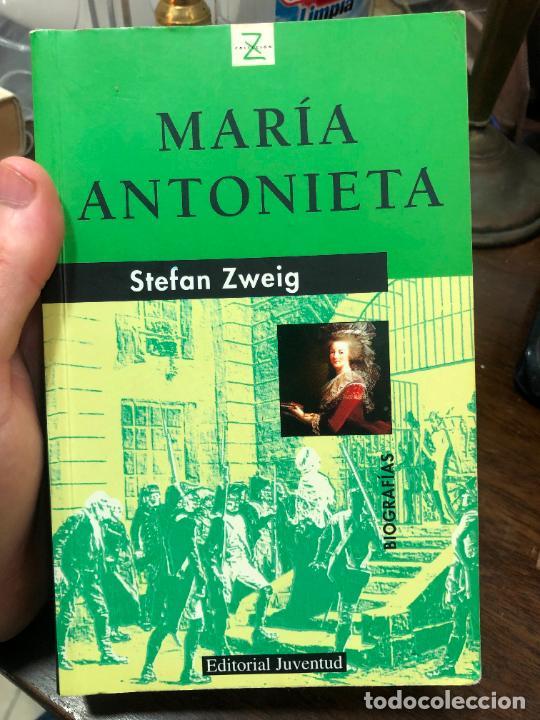 LIBRO MARIA ANTONIETA STEFAN ZXEIG - 522 PAG. (Libros de Segunda Mano (posteriores a 1936) - Literatura - Narrativa - Otros)