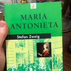 Libros de segunda mano: LIBRO MARIA ANTONIETA STEFAN ZXEIG - 522 PAG.. Lote 287914698