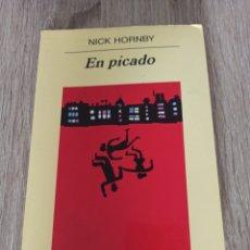 Libros de segunda mano: EN PICADO, DE NICK HORNBY. Lote 287916328