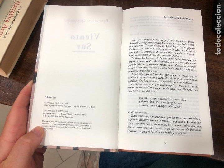 Libros de segunda mano: LIBRO FERNANDO QUIÑONES - VIENTO SUR - 378 PAGINAS - Foto 4 - 287919543