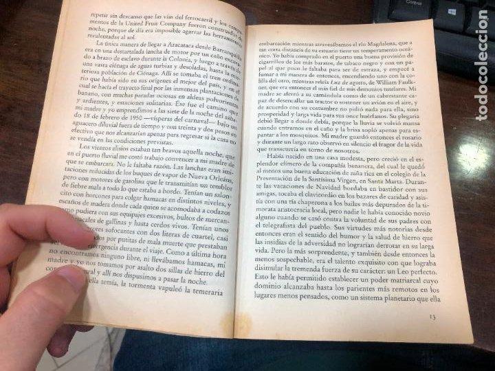 Libros de segunda mano: LIBRO GABRIEL GARCIA MARQUEZ - VIVIR PARA CONTARLA - 527 PAG. - Foto 4 - 287925833