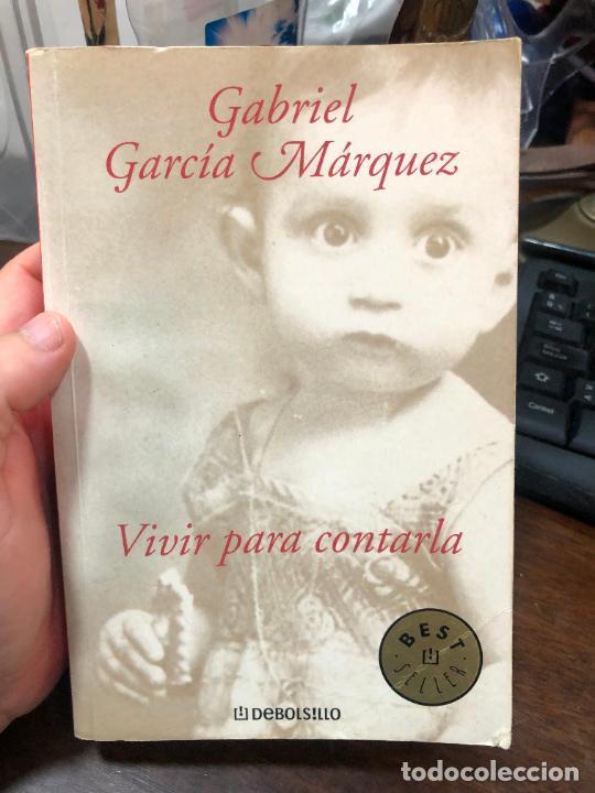 LIBRO GABRIEL GARCIA MARQUEZ - VIVIR PARA CONTARLA - 527 PAG. (Libros de Segunda Mano (posteriores a 1936) - Literatura - Narrativa - Otros)