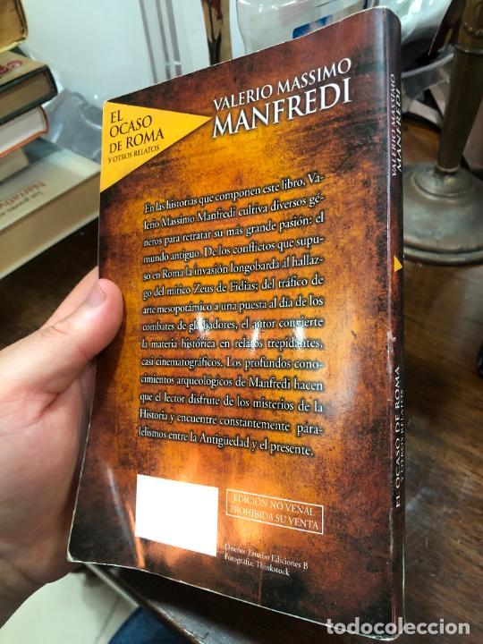 Libros de segunda mano: LIBRO VALERIO MASSIMO MANFREDI - 237 PAG. - Foto 6 - 287938928
