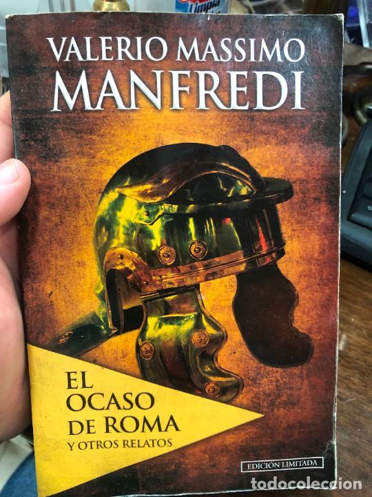 LIBRO VALERIO MASSIMO MANFREDI - 237 PAG. (Libros de Segunda Mano (posteriores a 1936) - Literatura - Narrativa - Otros)
