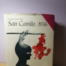 Libros de segunda mano: SAN CAMILO 1936 DE CAMILO JOSÉ CELA. Lote 287973828