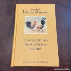 Libros de segunda mano: EL CORONEL NO TIENE QUIEN LE ESCRIBA - GABRIEL GARCÍA MÁRQUEZ. Lote 287787538