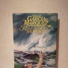 Libros de segunda mano: LIBRO -RETRATO DE UN NAUFRAGO - VARIOS - GABRIEL GARCIA MARQUEZ - CIRCULO LECTORES. Lote 288124443
