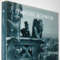Libros de segunda mano: MUNDOS TERRIBLES - RELATOS Y CRONICAS INEDITOS - MARCEL SCHWOB. Lote 288153553