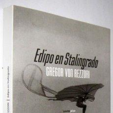 Libros de segunda mano: EDIPO EN STALINGRADO - GREGOR VON REZZORI. Lote 288154493
