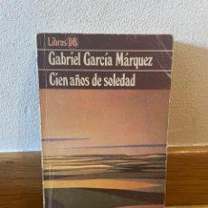 Libros de segunda mano: GABRIEL GARCÍA MÁRQUEZ CIEN AÑOS DE SOLEDAD. Lote 288170678