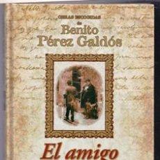 Libros de segunda mano: EL AMIGO MANSO, BENITO PÉREZ GALDÓS. Lote 288193738