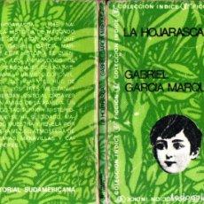 Libros de segunda mano: GABRIEL GARCÍA MÁRQUEZ : LA HOJARASCA (SUDAMERICANA, 1969) PRIMERA EDICIÓN EN LA COLECCIÓN. Lote 288205608