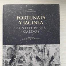 Libros de segunda mano: FORTUNATA Y JACINTA. BENITO PÉREZ GALDÓS. EDITORIAL AKAL.. Lote 288316468