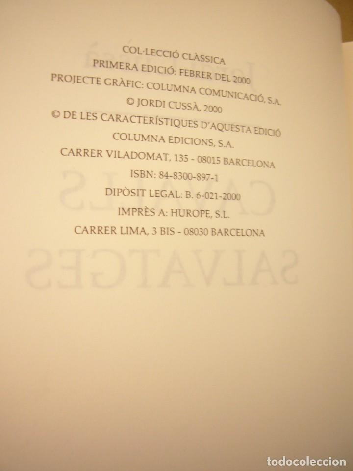 Libros de segunda mano: JORDI CUSSÀ: CAVALLS SALVATGES (COLUMNA, 2000) PERFECTE ESTAT. MOLT RARA PRIMERA EDICIÓ. - Foto 6 - 288350778