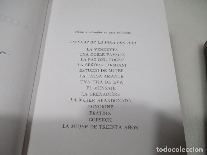 Libros de segunda mano: BALZAC La comedia humana (3 Tomos) W9359 - Foto 4 - 288415818