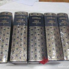 Libros de segunda mano: JOSEPH CONRAD OBRAS COMPLETAS ( 5 TOMOS) W9401. Lote 288464213