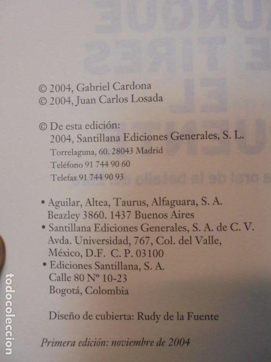 Libros de segunda mano: AUNQUE ME TIRES EL PUENTE. MEMORIA DE LA BATALLA DEL EBRO. GABRIEL CARDONA. JUAN CARLOS LOSADA. 2004 - Foto 7 - 288490018
