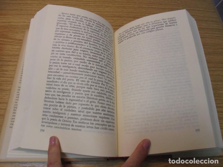 Libros de segunda mano: LOS MOMENTOS CRITICOS. ALI CHUMACERO. DEDICADO POR EL AUTOR. FONDO DE CULTURA ECONOMICA. 1987 - Foto 12 - 288490418