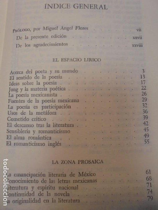 Libros de segunda mano: LOS MOMENTOS CRITICOS. ALI CHUMACERO. DEDICADO POR EL AUTOR. FONDO DE CULTURA ECONOMICA. 1987 - Foto 14 - 288490418