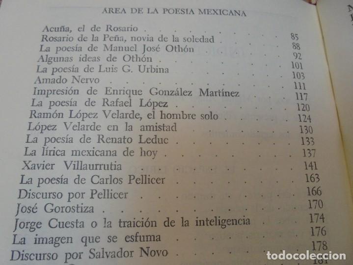 Libros de segunda mano: LOS MOMENTOS CRITICOS. ALI CHUMACERO. DEDICADO POR EL AUTOR. FONDO DE CULTURA ECONOMICA. 1987 - Foto 15 - 288490418