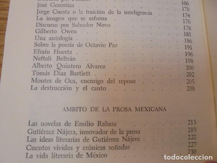 Libros de segunda mano: LOS MOMENTOS CRITICOS. ALI CHUMACERO. DEDICADO POR EL AUTOR. FONDO DE CULTURA ECONOMICA. 1987 - Foto 16 - 288490418
