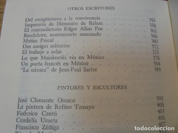 Libros de segunda mano: LOS MOMENTOS CRITICOS. ALI CHUMACERO. DEDICADO POR EL AUTOR. FONDO DE CULTURA ECONOMICA. 1987 - Foto 19 - 288490418