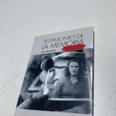 Libros de segunda mano: TESTIMONIO DE LA MEMORIA. Lote 288500983