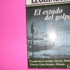 Libros de segunda mano: EL ESTADO DEL GOLPE, MANUEL LEGUINECHE, ED. ARGOS VERGARA, TAPA BLANDA. Lote 288507333