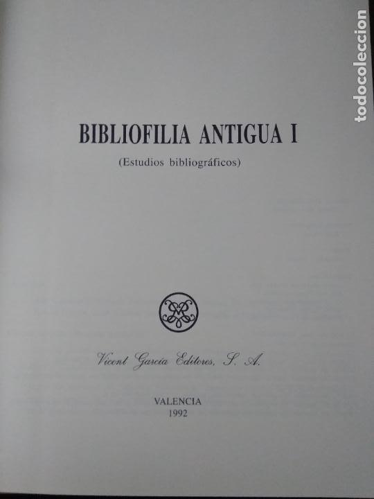 Libros de segunda mano: Biblioteca antigua (I), Vicent García. 1992. ART.548-1164 - Foto 3 - 288534913