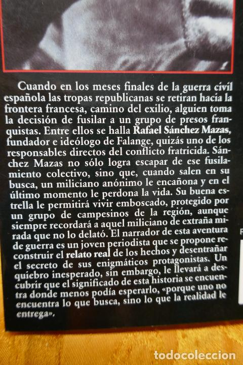 Libros de segunda mano: Soldados de Salamina, Javier Cercas. Colección Andanzas Tusquets - Foto 10 - 288549498