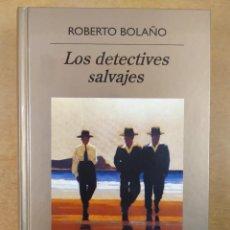 Libros de segunda mano: LOS DETECTIVES SALVAJES / ROBERTO BOLAÑO / 2008. BIBLIOTECA ANAGRAMA. Lote 288556813