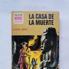 Libros de segunda mano: LA CASA DE LA MUERTE KARL MAY. Lote 288583788