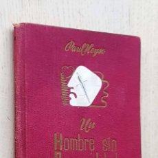 Libros de segunda mano: UN HOMBRE SIN PERSONALIDAD - HEYSE, PAUL. Lote 288595808