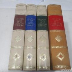 Libros de segunda mano: DAMASO ALONSO, LUIS ROSALES ...PRIMAVERA Y FLOR DE LA LITERATURA HISPÁNICA (4 TOMOS) W9427. Lote 288644283