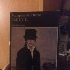 Libros de segunda mano: MARGUERITE DURAS. EMILY L. BUSQUETS. Lote 288743408