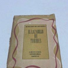 Libros de segunda mano: EL LAZARILLO DE TORMES. Lote 288926048
