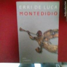 Libros de segunda mano: MONTEDIDIO EERRI DE LUCA AKAL LITERATURA 141 PAGINAS. Lote 288932403