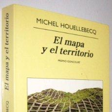 Libros de segunda mano: EL MAPA Y EL TERRITORIO - MICHEL HOUELLEBECQ. Lote 288950878