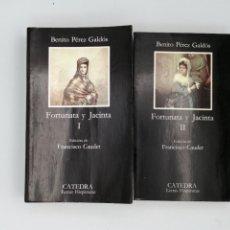 Libros de segunda mano: FORTUNATA Y JACINTA. I Y II.. Lote 289018603