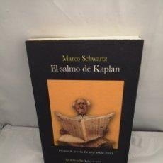 Libros de segunda mano: EL SALMO DE KAPLAN (PRIMERA EDICIÓN). Lote 289399243