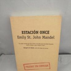 Libros de segunda mano: ESTACIÓN ONCE (EDICIÓN DE PRUEBAS SIN CORREGIR). Lote 289399443