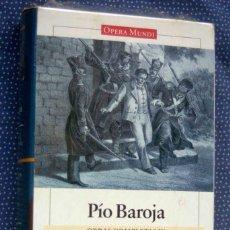 Libros de segunda mano: PIO BAROJA-OBRAS COMPLETAS (VOL. IV)-MEMORIAS DE UN HOMBRE DE ACCIÓN II-EDITORIAL GALAXIA GUTENBERG. Lote 289525703