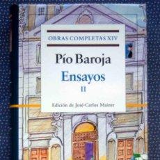 Libros de segunda mano: PIO BAROJA-OBRAS COMPLETAS (VOL. XIV)-ENSAYOS II-EDITORIAL GALAXIA GUTENBERG. Lote 289527018