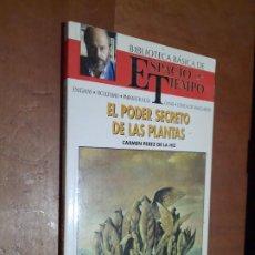 Libros de segunda mano: EL PODER SECRETO DE LAS PLANTAS. CARMEN PEREZ DE HIZ. BIBLIOTECA BÁSICA . RÚSTICA. BUEN ESTADO. Lote 289640123