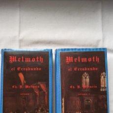 Libros de segunda mano: SIRUELA - EL OJO SIN PÁRPADO, MATURIN, MELMOTH EL ERRABUNDO. Lote 289677918