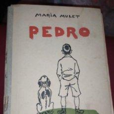Libros de segunda mano: MARÍA MULET PEDRO 1956. Lote 289941293