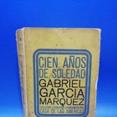 Libros de segunda mano: CIEN AÑOS DE SOLEDAD. G.GARCIA MARQUEZ. 1ª ED. CASA DE LAS AMERICAS. LA HABANA.1966. FIRMADO AUTOR.. Lote 290367643