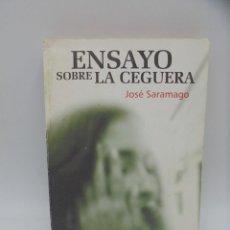 Libros de segunda mano: ENSAYO SOBRE LA GUERRA. JOSE SARAMAGO. EDITORIAL ARTE Y LITERATURA. 1995. FIRMADO AUTOR.. Lote 290381358