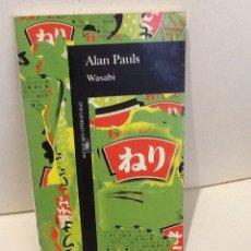 Livros em segunda mão: ALAN PAULS . WASABI . ALFAGUARA .. Lote 292090143