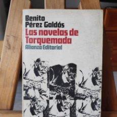 Libros de segunda mano: LAS NOVELAS DE TORQUEMADA, PÉREZ GALDÓ, ALIANZA EDITORIAL, 1970. Lote 292536518